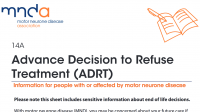MNDA: Advanced Decision to Refuse Treatement (ADRT)