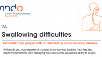 MNDA: Swallowing difficulties