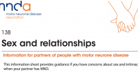 MNDA: Sex and relationships for partners of people living with MND